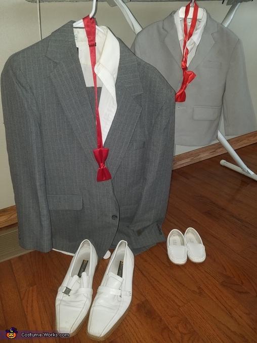 Pee Wee and Mini Pee Wee costumes, Pee Wee Herman Costume