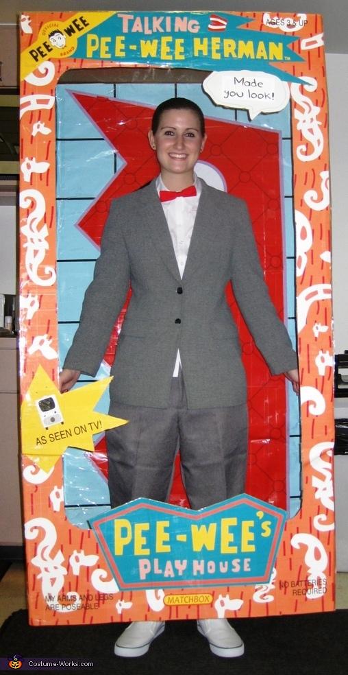 Pee Wee Herman Doll Costume