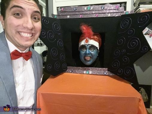Pee Wee's Playhouse Homemade Costume
