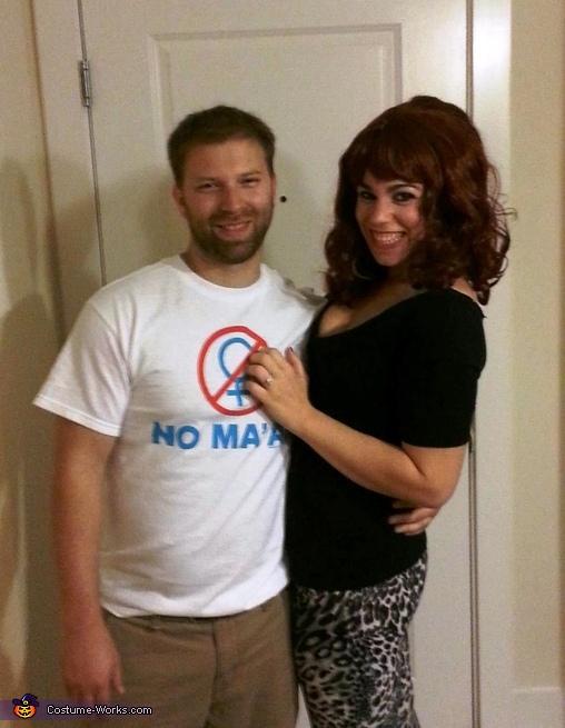 Peg and Al Bundy Couple Costume