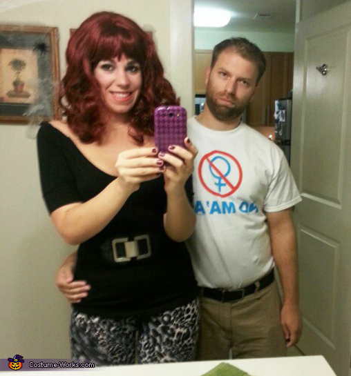 Peg and Al Bundy Couples Costume