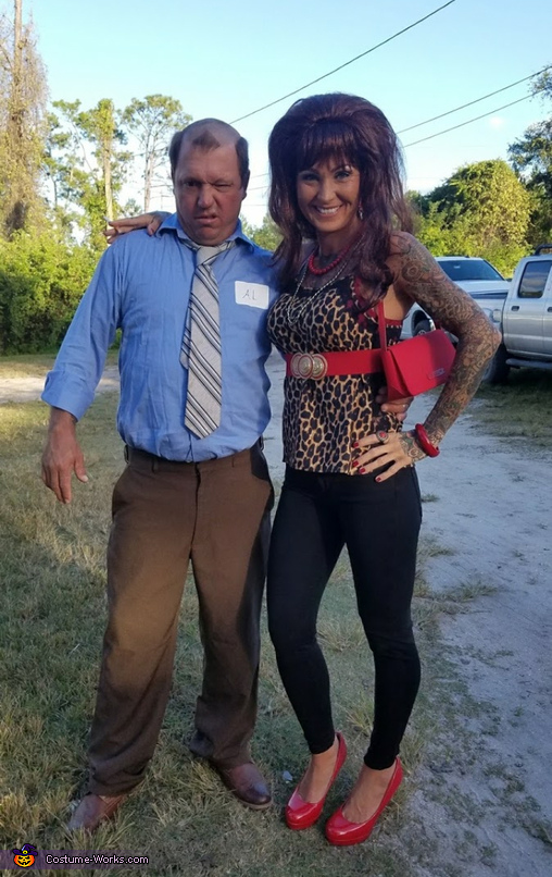 Peg Bundy Al Bundy Married with Children, Peggy and Al Bundy Married with Children Costume