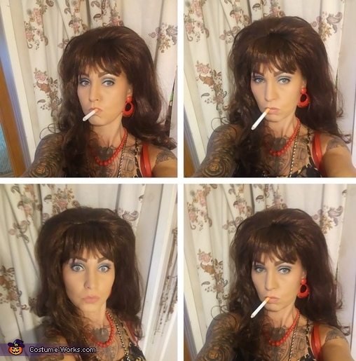 Peggy Bundy Halloween costume, Peggy and Al Bundy Married with Children Costume
