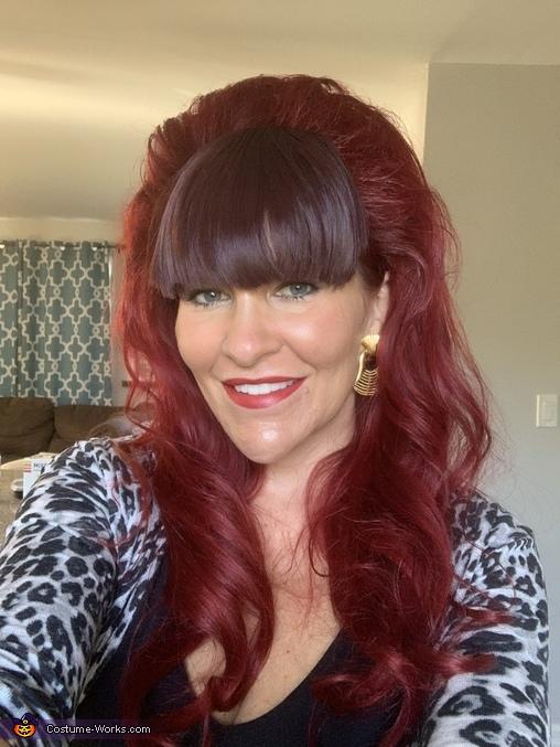 The hair, Peggy Bundy Costume