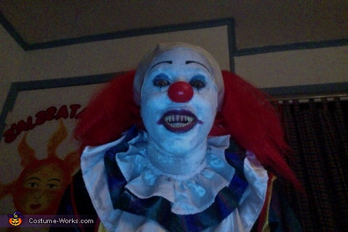 Head shot 1, Pennywise Costume