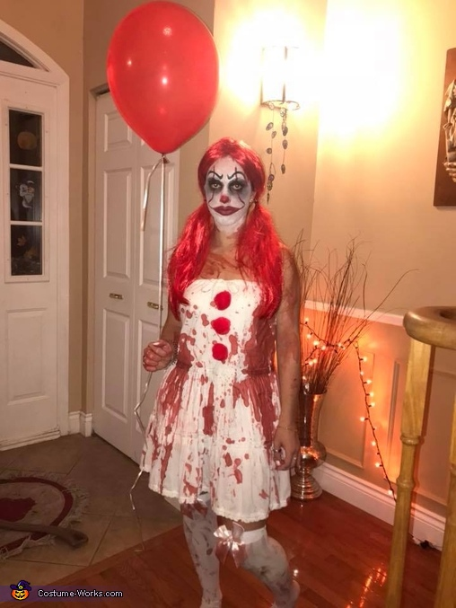 DIY Female Pennywise Costume Adorable Pennywise Costume Pattern
