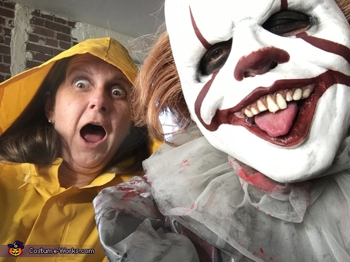 Me and georgie, Pennywise Costume