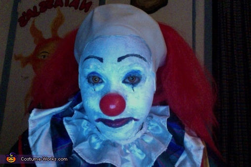 Head shot 2, Pennywise Costume
