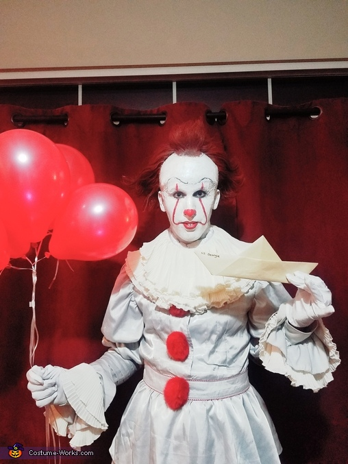 Diy Pennywise Adult Costume