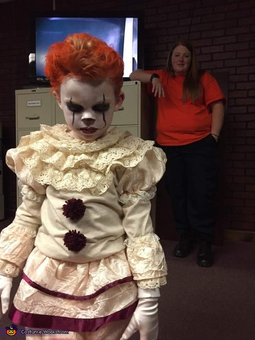 Embracing the character, Pennywise Costume