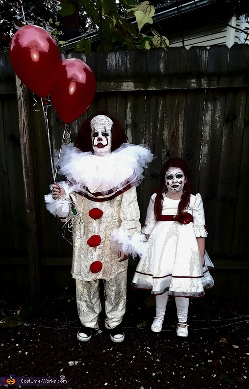 Pennywise and Annabelle Costume