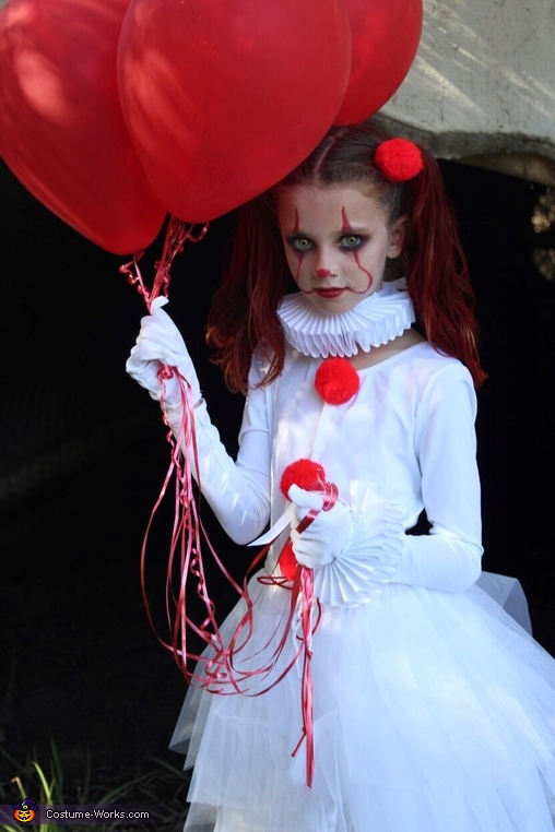Pennywise and Baby Georgie Costume