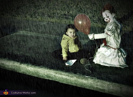 """""""You'll float too"""", Pennywise and Georgie Costume"""