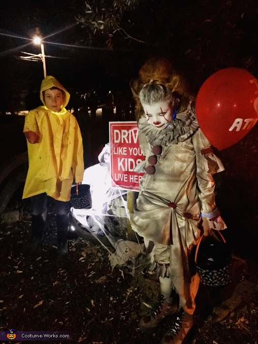 Night time, Pennywise and Georgie Costume
