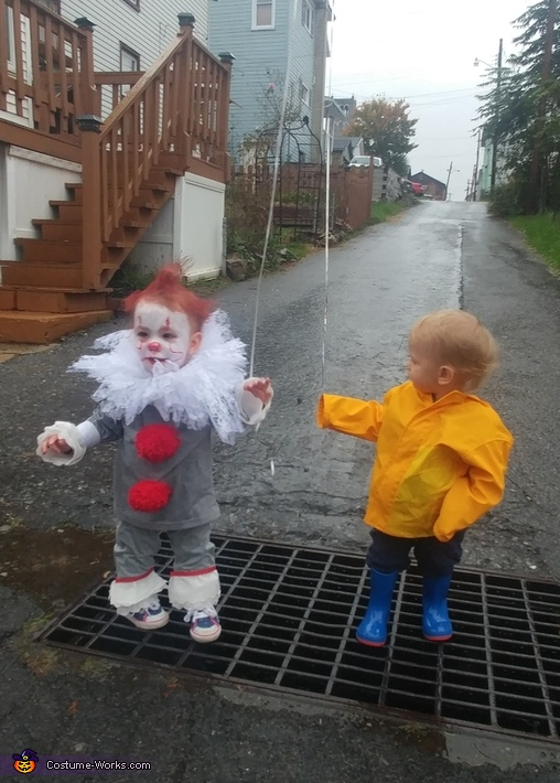 Pennywise and Georgie Costume