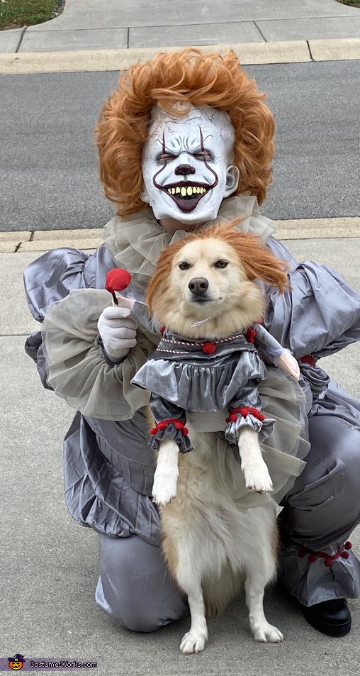 Pennywise and his Dog Costume