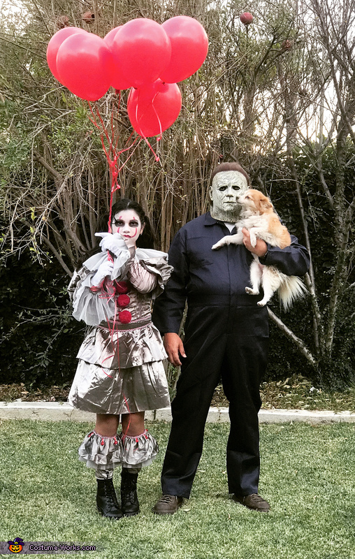 Pennywise and Michael Myers Costume