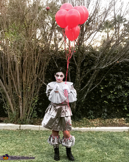 Pennywise and Michael Myers Homemade Costume