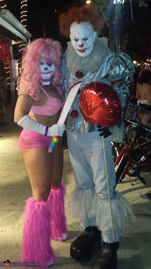 Pennywise and Pinky Costume