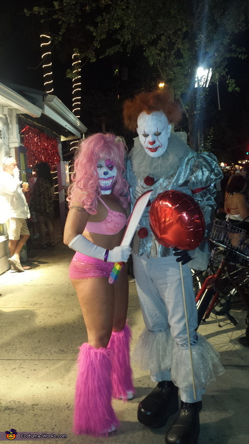 Good times!, Pennywise and Pinky Costume