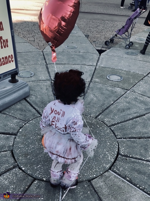 You'll All Float, Pennywise Costume