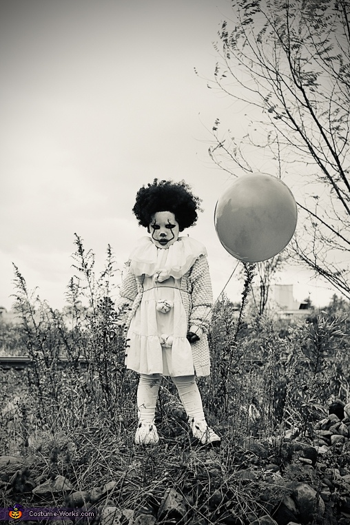 Pennywise Clown Homemade Costume