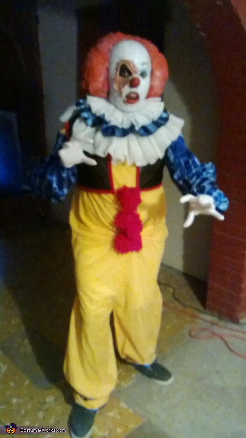 Pennywise Clown IT Homemade Costume