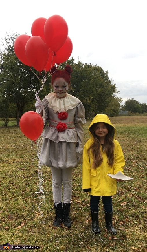 Movie Pennywise Georgie Costume