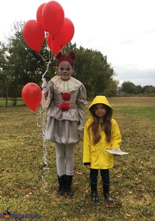 You'll float too!, Pennywise & Georgie Costume