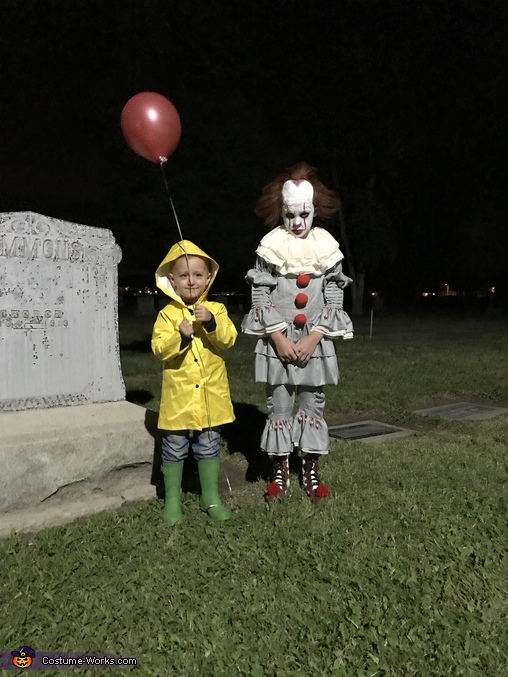 Pennywise & Georgie Homemade Costume
