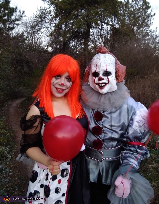 Pennywise & his Twisted Girlfriend Costume