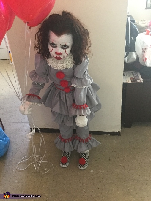 IT, Pennywise the Clown from IT Movie 2017 Costume