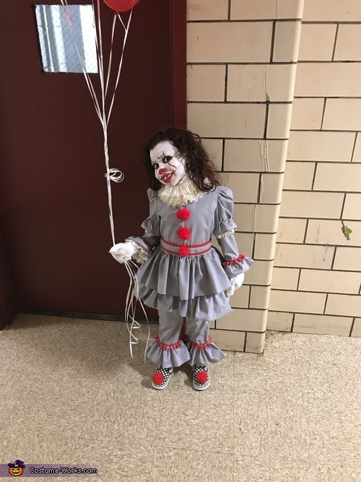 Killer Clown, Pennywise the Clown from IT Movie 2017 Costume