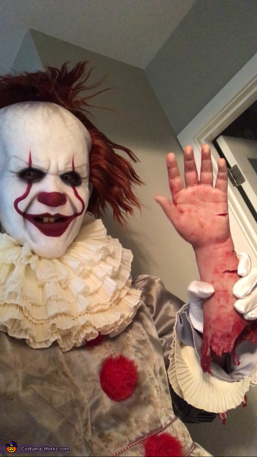 It was real enough for Georgie., Pennywise the Dancing Clown Costume