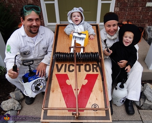 Pest Control Family Costume