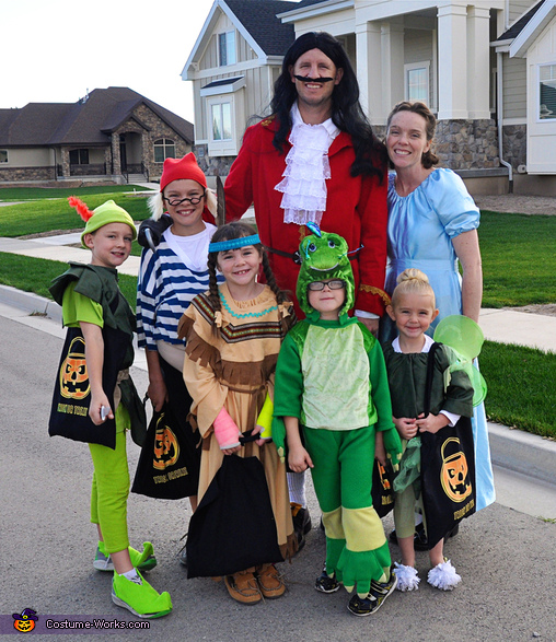 peter pan family costume