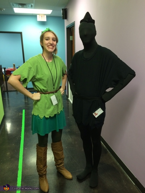 Peter Pan and his Shadow Couples Costume