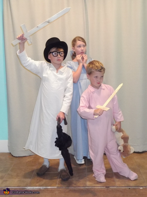 The Darling Kids, Peter Pan and the Crew Costume