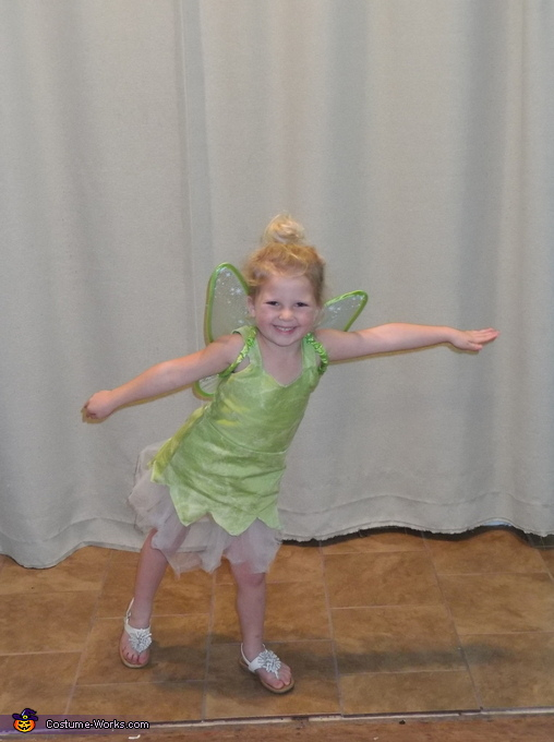 Tinkerbell, Peter Pan and the Crew Costume