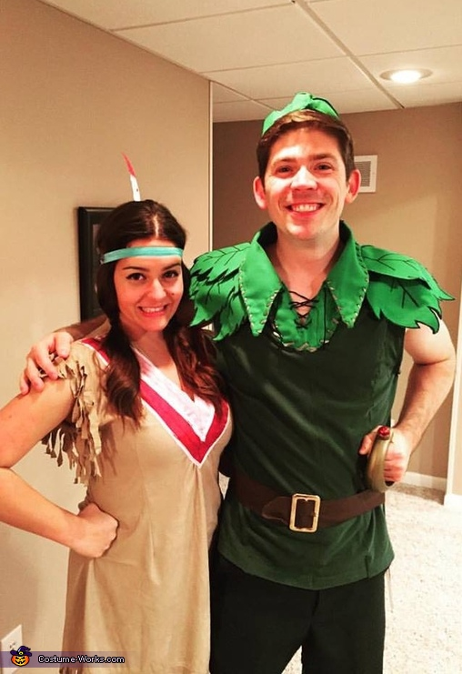 Peter Pan and Tiger Lily Costume