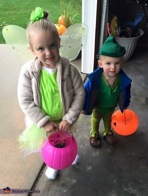 Peter Pan and Tink Costume