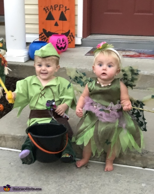 Peter Pan and Tinker Bell Costume