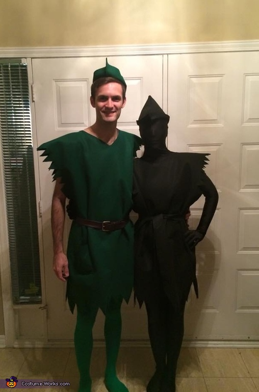Peter Pan & his Shadow Costume