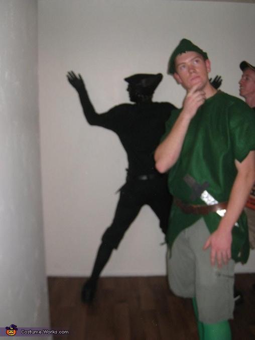 Peter Pan's Shadow Costume