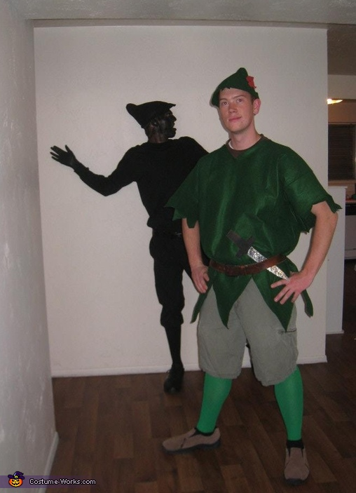 peter pans shadow homemade costume