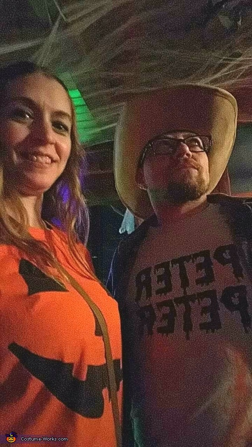 Peter Peter & Pumpkin Costume