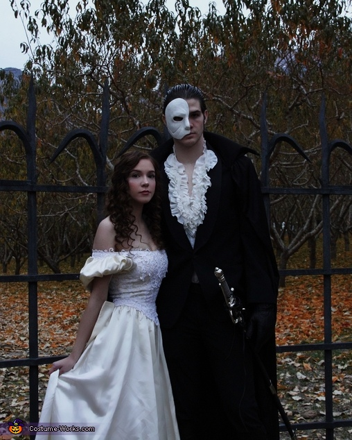 Phantom of the Opera & Christine Daae Homemade Costume