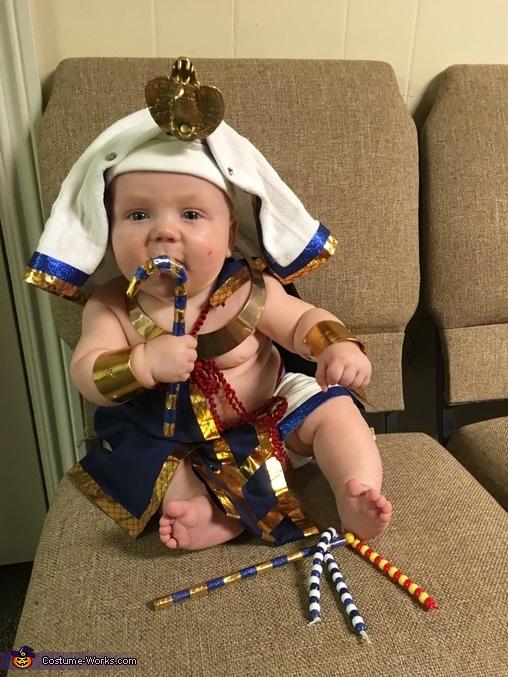 Pharaoh of the Nile Homemade Costume
