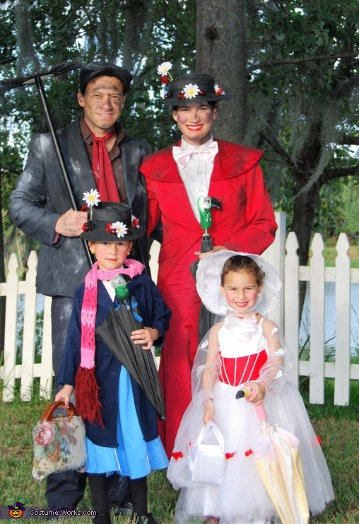 Phases of Mary Poppins Costume