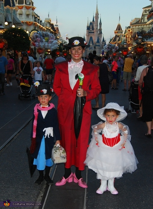 Just Us Girls, Phases of Mary Poppins Costume